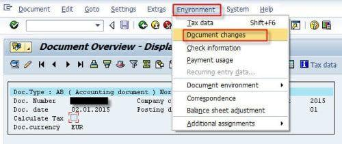 Sap Change Document for Custom Table schema