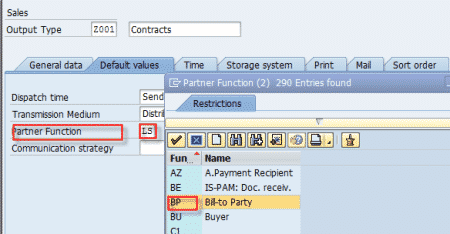 SAP Output Message - How To Create And Assign Output Message