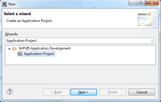 Create SAPUI5 Test Project in Eclipse