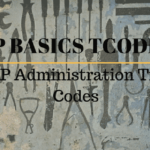 Usefull SAP Administration Transaction Codes - SAP Basics Tcodes