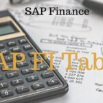 SAP FI Tables