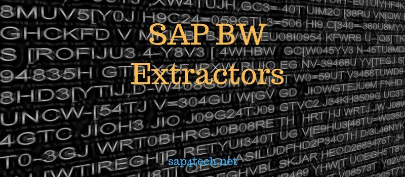 SAP BW Extractors