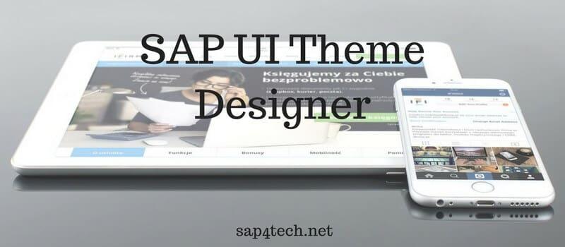 SAP UI Theme Designer