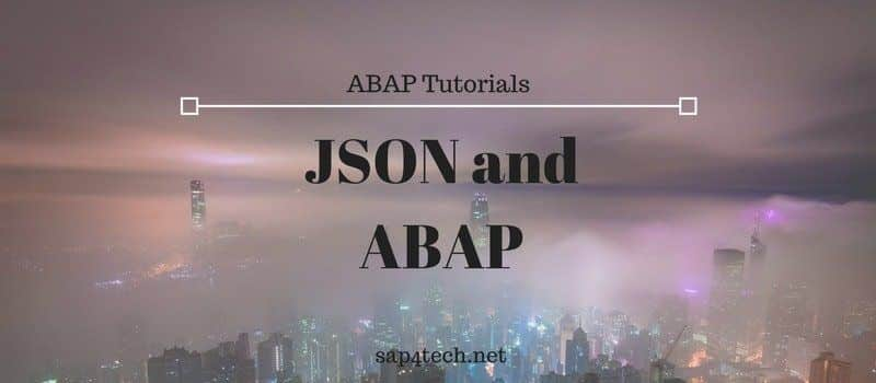 Convert JSON and ABAP, List of The most important JSON ABAP Classes in SAP